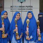6 Santri SMA Ar-Rohmah Putri Raih Juara Olimpiade Sains Se-Kabupaten Malang