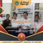 Siswa SMP Integral Ar-Rohmah Tahfizh meraih 3 Medali dalam IMSC Nasional