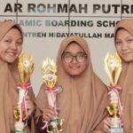 3 Santri SMA Ar-Rohmah Putri Raih Juara KSN Kabupaten Malang