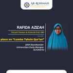 Ustadzah Diniyah Ar-Rohmah Putri Meraih Juara Dalam MTQ