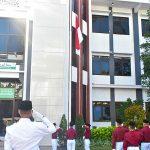 PRATAMA GUDEP 29.089 SAKO HIDAYATULLAH MALANG KOMANDANI UPACARA KEMERDEKAAN